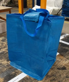 Blue 47 litre Kerbside / Recycling Bags