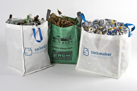 Reuseable Recyclable Sacks