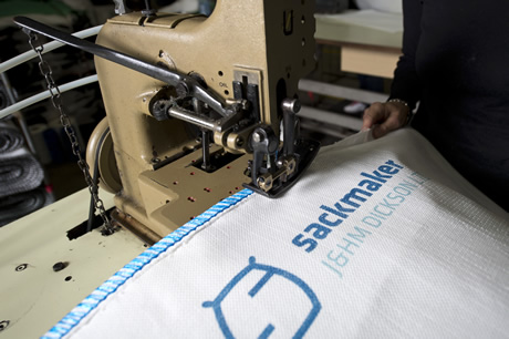 Sacks Manufactured in the UK